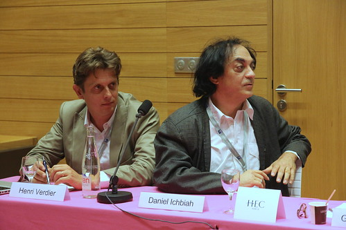 Daniel Ichbiah, écrivain et Henri Verdier, président de Capdigital