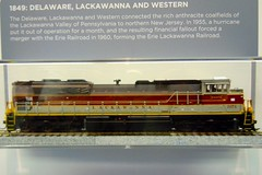NS 1074 Model (ironmike9) Tags: railroad model ns rail railway locomotive dlw steamtown norfolksouthern scrantonpa sd70ace norfolksouthernrailroad delawarelackawannawestern exhibitcar