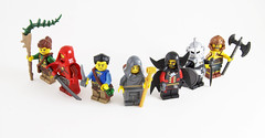Fantasy Figbarf (Titolian) Tags: castle forest lego fig barf fantasy knight minifig rogue mage necromancer barbarian figbarf