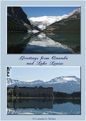 Lake Louise (Cornelia G.Becker (soulll59)) Tags: sea holiday canada mountains hotel see photo flickr foto photographer urlaub special berge greetings bild ferien highlight bilder kanada canadianrockies grusskarte soulii59 soulll59 gretingscard corneliagbecker