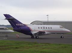 N314TC Hawker 800 (GSairpics) Tags: travel plane airplane scotland flying airport edinburgh aircraft aviation transport flight aeroplane 800 edi hawker 125 egph bae125 hs125 060912 n314tc gsairpics