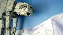 "Battle of Hoth diorama - imperial AT-AT at close range from front • <a style=""font-size:0.8em;"" href=""http://www.flickr.com/photos/86825788@N06/7949261492/"" target=""_blank"">View on Flickr</a>"