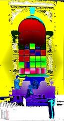 "WANDFENSTER (""LINQUENDA"") Tags: color art by kunst kontrast farbe viele bunt lele abstrakt freude"