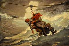 Winslow Homer - The Life Line, 1884 at the Museum of Art Philadelphia PA (mbell1975) Tags: life art philadelphia museum painting us gallery museu unitedstates pennsylvania fine arts musée line musee m pa american realist homer museo muzeum realism winslow 1884 the müze museumuseum