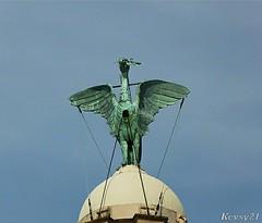 Liver Bird (kev thomas21) Tags: england liverpool waterfront mersey merseyside liverbuilding 3graces