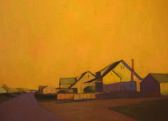 Robert Cardinal (RobertCardinal) Tags: sunset robert painting landscape twilight cardinal provincetown oil cape cod truro