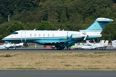 Private N632FW (Drewski2112) Tags: seattle county field airport king international boeing 300 challenger bombardier bfi kbfi cl30 n632fw