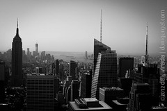 "View from the Top of The Rock. New York, NY, USA. • <a style=""font-size:0.8em;"" href=""http://www.flickr.com/photos/35947960@N00/8000432459/"" target=""_blank"">View on Flickr</a>"