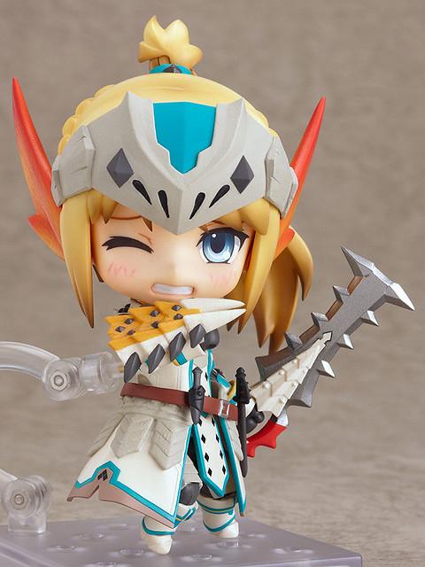 魔物獵人Nendoroid Monster Hunter 冰牙龍裝女獵人