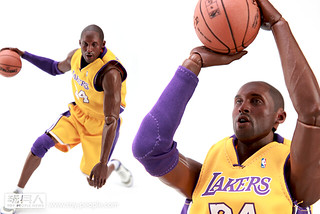 ENTERBAY – 1/6 REAL MASTERPIECE NBA:Kobe Bryant 開箱報告
