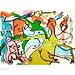 Dibujo de Miguel Bosé para 'Voces que pintan'