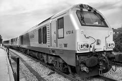 67014 (R~P~M) Tags: uk greatbritain england london train unitedkingdom railway depot locomotive 67 wembley chilternrailways dbarriva