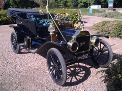 1912 Ford Model T (jambox998) Tags: ford car electric vintage t tin scotland model edinburgh starter main rally scottish lizzie september company southern event motor sep 1912 25th division veteran ltd touring 19th vcc the uplands