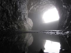 Reflection in tunnel (Cbbyosoy) Tags: mountain alps reflection fog alpes reflections schweiz switzerland suisse suiza tunnel pilatus montaa tunel niebla nube flickraward5 flickrawardgallery