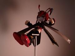 Pest-X (jaqio) Tags: anime japan bug one model shot painted manga x killer kit legacy pest kotobukiya hoihoi