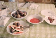 (soap & water) Tags: food film 200 meal fujifilm vivitar remains watermellon passionfuit