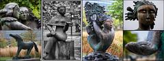 Art au Parc des Faubourgs (Joanne Levesque) Tags: art public bronze statues sculptures centresud nikond90 robertlorrain parcdesfaubourgsmontreal