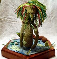 Vodnik (9) (McFiberNutt) Tags: thread miniature crochet folklore amigurumi