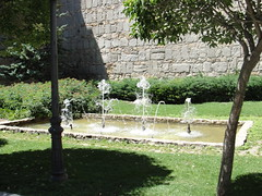DSC07986 (madskills421) Tags: brick castle spain pueblo ciudad espana spanish espanol castillo avila muros murallas