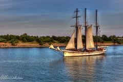 Empire Sandy (Al Burakan) Tags: montreal sandy empire tallship schooner hdr