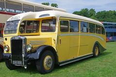 Leyland Tiger PS1 Duple 'A' type half-cab (1947) (Graham Woodward) Tags: buses trucks busses trams bartons omnibuses charabancs midlandgeneral pentaxk5 wollatonparkautokarnanottingham