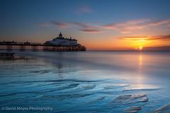 Eastbourne Pier Autumn Sunrise (JamboEastbourne) Tags: sea england sun sunrise canon sussex pier seaside big east lee eastbourne 1740mm stopper 50d