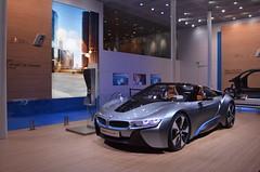 BMW i8 Concept (11MrAxel) Tags: auto paris cars car nikon automobile ferrari salon jaguar concept audi lamborghini bentley gallardo motorshow 2012 lexus emerge infiniti mondial f12 2013 f2012 aventador d5100
