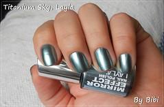 Unha 8: Unhas metálicas (Bibi) Tags: blue azul bleu nails nailpolish layla unhas metalic ongles metálico vernis esmalte