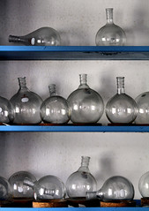 glassware (Desolate Places) Tags: test abandoned tubes labratory