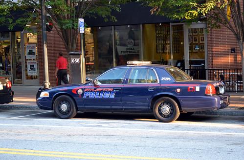 Atlanta Police Department - 2009 Ford Crown Victoria - Zone