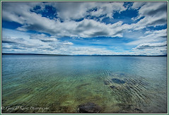 Yellowstone Lake (Gary P Kurns Photography) Tags: lake nikon flickr yellowstone onone yellowstonelake d700 mygearandme