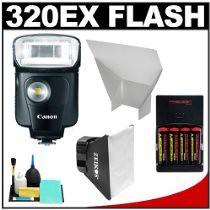 Buy Cheap Deals Canon Speedlite 320EX Flash with LED Light with Softbox + Bounce Reflector + (4) Batteries & Charger + Accessory Kit for EOS 7D, 5D, 60D, 50D, Rebel T3, T3i, T2i, T1i, XS Digital SLR Cameras (inblackfridakland) Tags: 5d t3i 50d 60d t2i t1i rebelt3 xsdigitalslrcameras comparebestpricecanonspeedlite320exflashwithledlightwithsoftboxbouncereflector4batterieschargeraccessorykitforeos7d