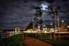 Dark side of the moon [Explored 7th Oct, 2012!] (Wameq R) Tags: bridge light netherlands night interestingness dock rotterdam ship cathedral crane fullmoon chef cube oil crate hdr willemsbrug lightroom dockyard cubehouses photomatix interestingness25 explored blinkagain bestevercompetitiongroup me2youphotographylevel1