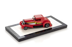 ZZ-Top Eliminator 1933 Ford 80's Hot Rod (-derjoe-) Tags: hot ford car lego top joe rod chopped 1980s der 1933 zz eliminator derjoe