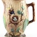 168. Majolica Birds & Nest Pitcher