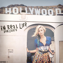 In Real Life - Demi Lovato (epitomes) Tags: life sign photoshop vintage real graffiti photoshoot edited cd teen vogue cover single hollywood demi edit in unbroken lovato