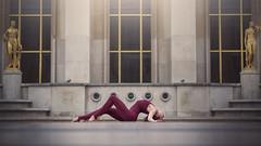 (dimitryroulland) Tags: street city people urban paris france art dance nikon circus 85mm dancer gymnast gymnastics 18 gym performer flexibility flexible rhythmic d600 dimitry roulland