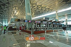 T3U CHECK-IN AREA (34) (MYW_2507) Tags: checkin airport cgk jakarta soetta soekarnohatta t3u terminal3 expansion shia