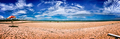 Trancoso Beach (rvcroffi) Tags: trancoso portoseguro bahia brazil praia panorama guardasol ensolarada cuazul brazilian beach litoral coast hdr sunny summer vero areia sand praiadeserta landscape paisagem brasil