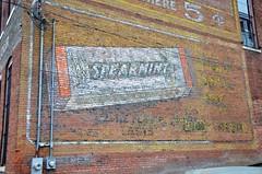 Missouri, Boonville, Wrigley's Spearmint Gum (EC Leatherberry) Tags: missouri gum chewinggum spearmint coopercounty wall advertisement boonvillemissouri wrigleyspearmintgum