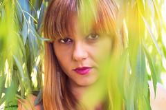 Colores (Sachada2010) Tags: canon 80d sachada sachada2010 javier martin 100mm is usm l macro retrato portrait chica girl woman arbol tree hojas mujer moda fashion sexy blonde spain espaa galicia female modelo model fotografia photography martn cara face