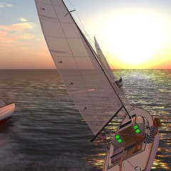 FIYC IF races (vivipezz) Tags: sailing sl secondlife if bandit fiyc