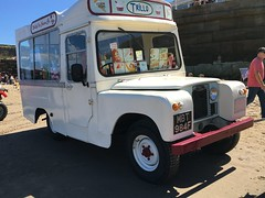 "Land Rover 109"" 4 cyl (VAGDave) Tags: land rover 109 4 cyl 1968 ice cream van"