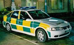 Kent Ambulance Vauxhall Vectra W445 YRH (policest1100) Tags: secamb kent ambulance vauxhall vectra w445 yrh