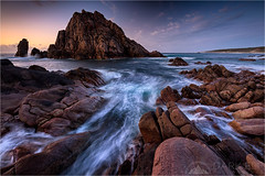 Endless Motion (Darkelf Photography) Tags: sugarloaf rock naturaliste western australia seascape landscape evening dusk sunset rocks indian ocean cape shore coast polariser filter lee canon 1635mm 5diii maciek gornisiewicz darkelf photography endlessmotion 2015
