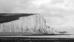 _DSC8512 (alexcore_) Tags: blackandwhite blancoynegro bn bw beach seven sisters cliffs hills white stone england summer landscape