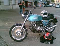 Ducati 750 *  . Ducati 150803 1 (maya.walti HK) Tags: 2006 copyrightbymayawaltihk ducati750 engines fahrzeuge flickr motocicleta motorcycle motoren motores motorrad motors sonydscw100 040816