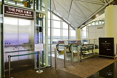 Entrance to The Pier (A. Wee) Tags: hongkong hkg airport   china   cathaypacific thepier lounge
