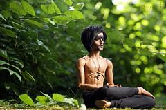 Meditation (AraDolls) Tags: bjd abjd bjds balljointeddoll doll dolls dollfie granado uranus aradolls tan tanned nature