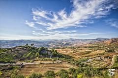 panoramica vista da San Biagio Platani (Sicily) (Fulvietto_Sabella) Tags: landscape agrigento sanbiagioplatani sicilia summer